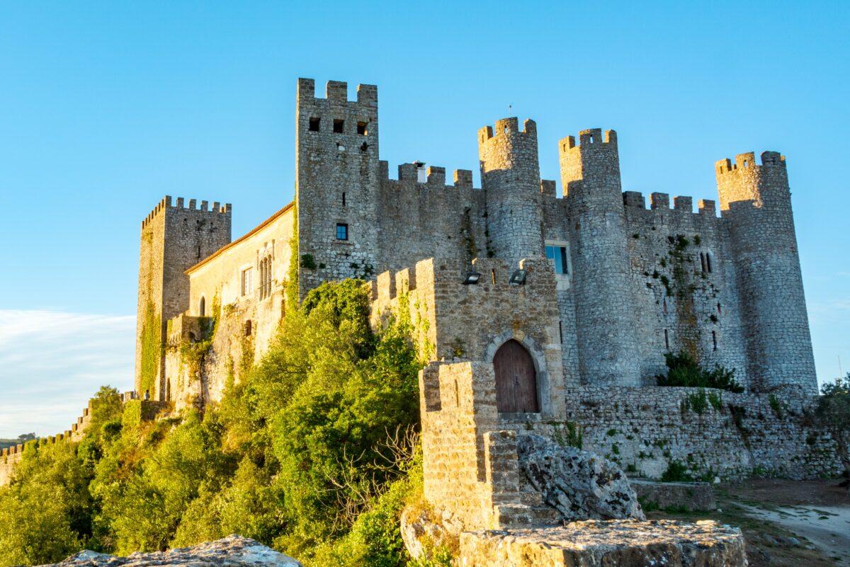 Castelo de óbidos na Vila de óbidos - leiria