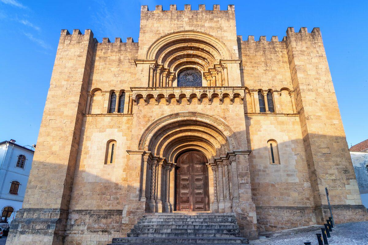 Sé velha da cidade de Coimbra
