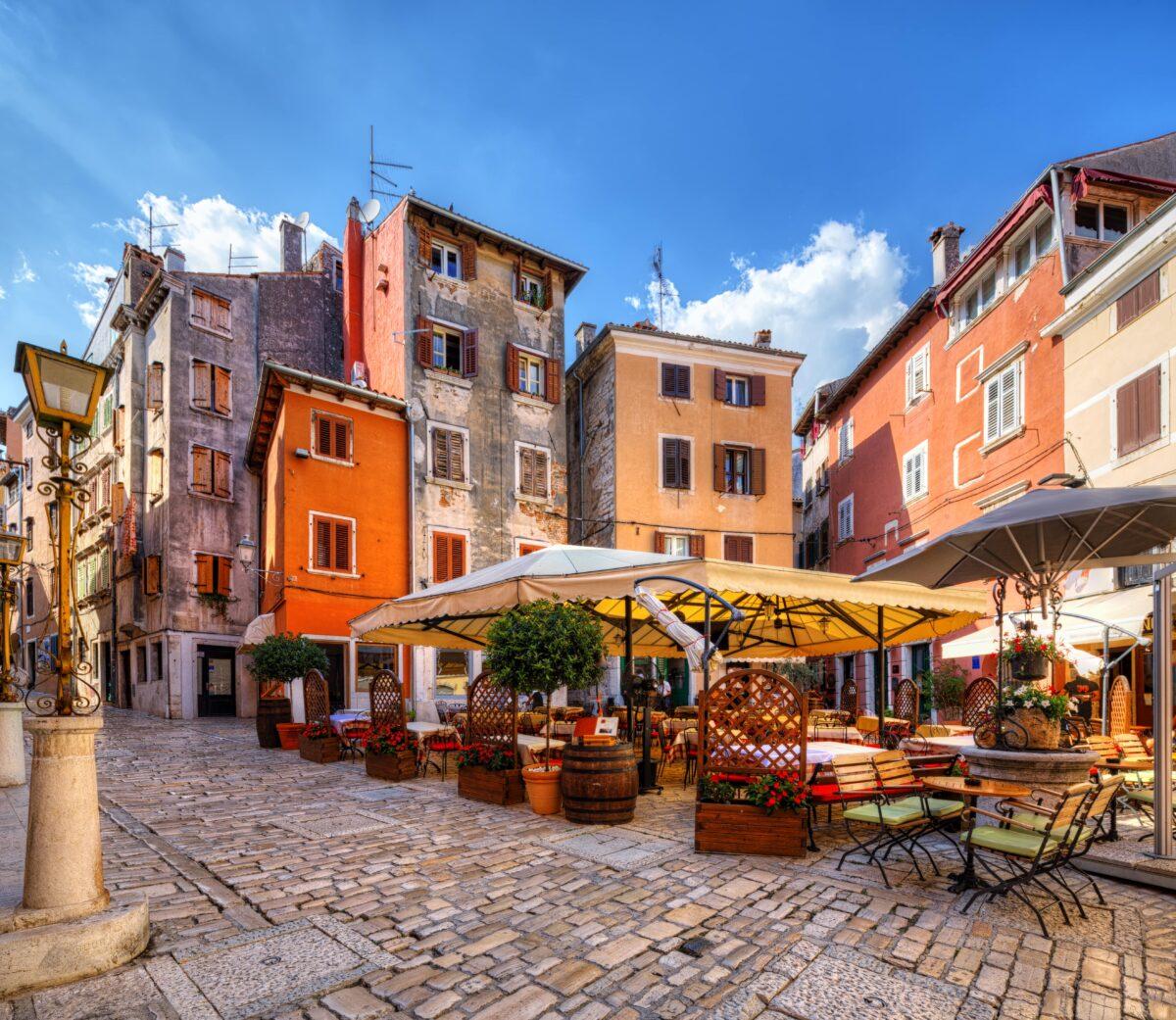 Rovinj, Istria na croácia